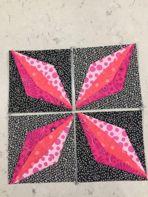 April Bee Blocks Cocoa Quilts